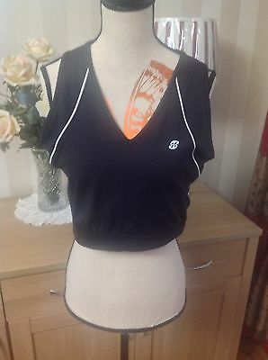 Marks And Spencer Exercise Crop Top Size-14 Good Condition (B5)
