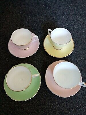 Mix And Match China tea Cup And Saucer Harleigh, Duchess and Clare China