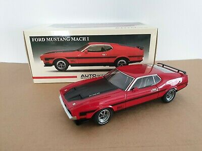 AUTOart Ford Mustang Mach 1 Red 1971 1:18 72822