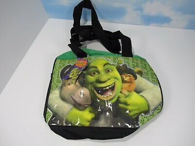 Shrek The Third Duffle Bag New With Tags 2008 Green Donkey Puss N Boots
