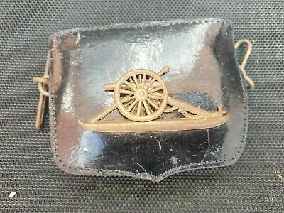 British Artillery Leather Pouch