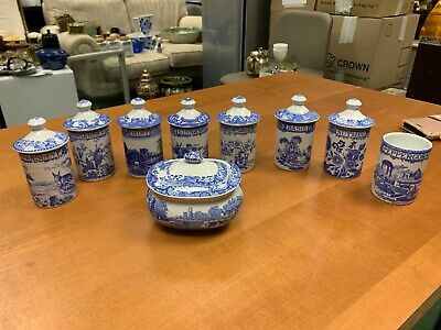 Used The Blue Spode Room 8 Herb And Spice