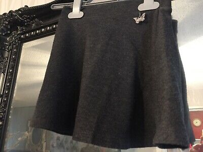 Girls Tu Grey School Skirt Age 5 Years