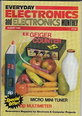 Everyday Electronics August 1986
