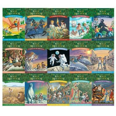 Magic Tree House Books 1-45 Collection (P.D.F)