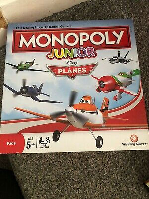 junior monopoly Disney Planes board game Used But Excellent Condition