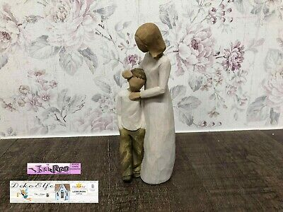 """Willow Tree Engel """"Mutter und Sohn"""" """"Mother and Son"""" 26102"""