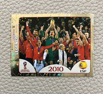 Sticker 673 Deutschland FIFA World Cup Legends Panini WM 2018 World Cup Russia