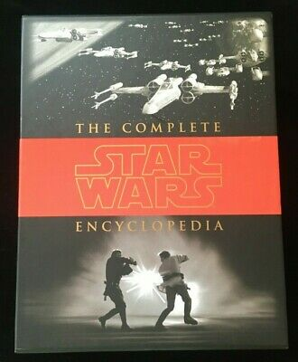 The Complete Star Wars Encyclopedia-Three Hardcover Volumes in Slipcase