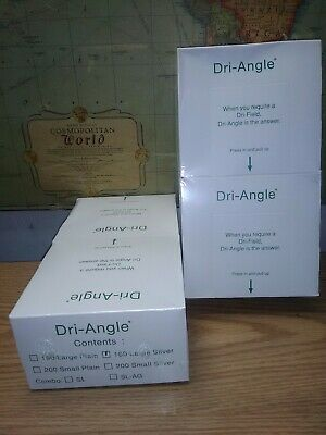 Dri-Angle With Silver - Large Cotton Roll Substitute - 2 Boxes Of 320
