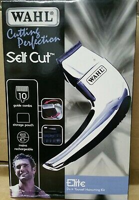 WAHL CUTTING PERFECTION SELF CUT Clipper Haircutting Kit Trimmer CORDLESS