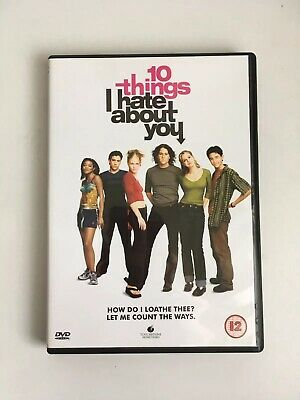 10 Things I Hate About You DVD Classic 90's Film