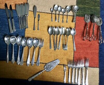 Cutlery silver plated various