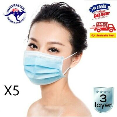 5 pack Face Mask - in stock, same day shipping