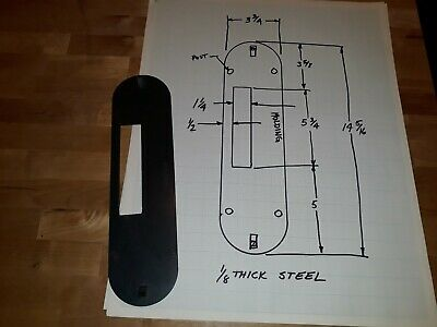 Craftsman Molding/Dado Throat Plate For Table Saw