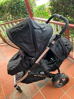 Steelcraft Strider Plus Double Seat Pram Baby/toddler+bassinet+more