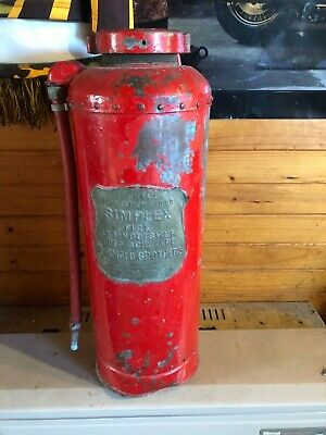 Early Simplex fire extinguisher