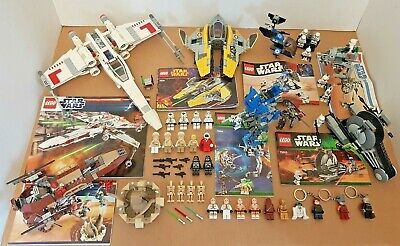 Bundle of STAR WARS LEGO inc. 9493 and 38 Minifigures