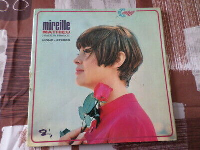 vinyle 33T Mireille MATHIEU « Made In France »  Avec  Grand Orchestre