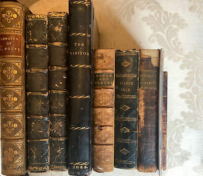 A Collection Early 19th Century Antique Books