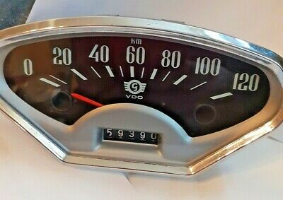 Glas Gogomobil Speedometer Tested Working Mint Micro Mobile,bubble car ,rare