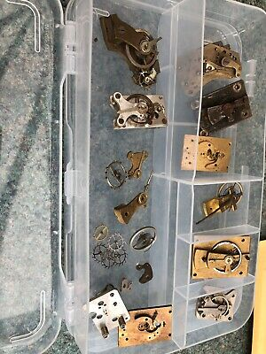 Job Lot Of Victorian Clock Platform Escapement