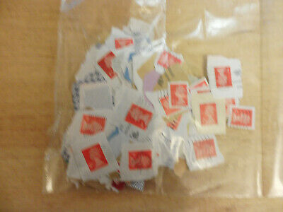 Red Security 425 Second Class Red British Security Stamps - Great Britian