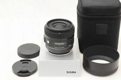 SIGMA 30mm F1.4 for DC HSM Art Canon lens Japan EXC++