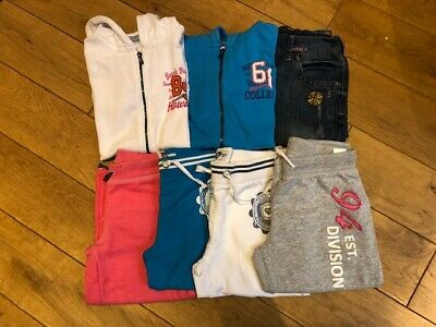 Girls bundle shorts, cropped trousers, tops x 7 age 11 Boden, H&M, Next, Dunnes