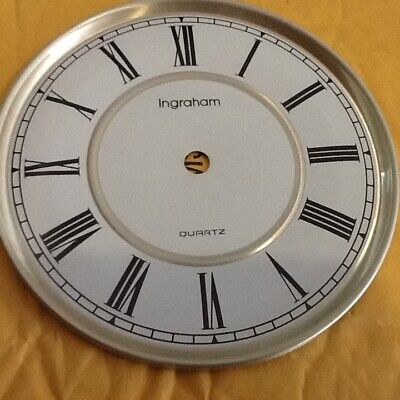 Vintage Ingraham Wall Clock Face For Parts