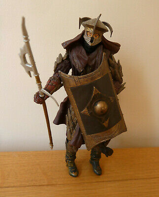 """Marvel 2002 Lord Of The Rings Action Figure Easterling Warrior 7"""""""