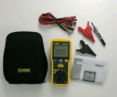AEMC INSTRUMENTS Battery Operated Megohmmeter, 6527