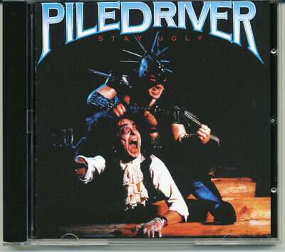"""Piledriver """"Stay Ugly"""" 1986, CD"""