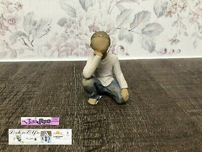 """Willow Tree Angel """" Curious Child """" Inquisitive Child """" 26227"""