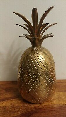 Brass Pineapple Canister