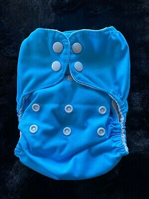 Thirsties Natural All In One-One Size Diaper NAIO OS Teal