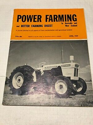 Vintage Collectable Power Farming Magazine April 1969