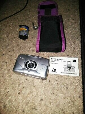 Kodak Advantix T60 APS Digital Camera with film, manual, and case