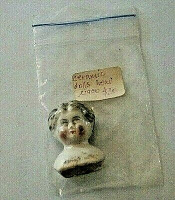 Antique Collectable Ceramic Dolls Head Circa 1900