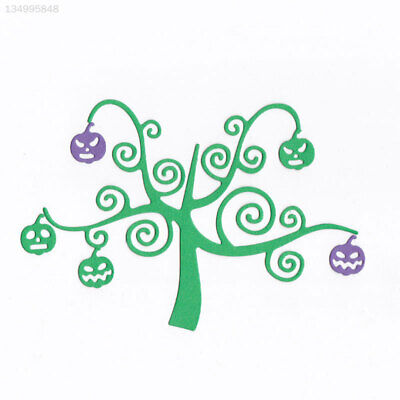 Cutting Dies Cutting Stencil Halloween Pumpkin Tree DIY Template Crafting Class