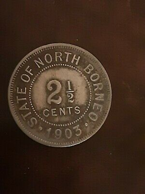 1903    2½ Cents British North Borneo