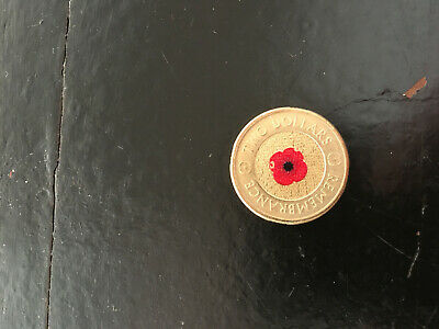2012 Red Poppy Uncirculated $2