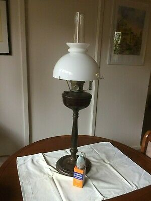 Vintage Super Aladdin Oil lamp Complete With Chimney and Shade