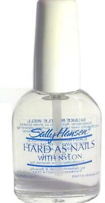 SALLY HANSEN HARD AS NAILS WITH NYLON CLEAR 13.3ml - SPECIAL PRICE!!!