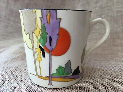 Art Deco Tams Ware 'Woodland' England Small Cup 6cm Tall 1930s