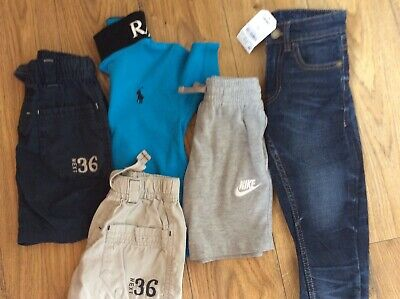 Boys clothes Shorts Tops Jeans Age 3-4 years bundle Some New Items
