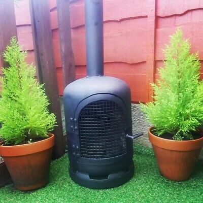 Gas Bottle Wood burner/Log Burner/ Chiminea/Patio heater/Garden/outdoor heater.