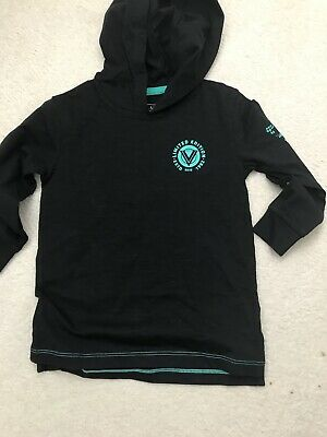 Next Age 3 Boys Hooded Top Black Bnwt