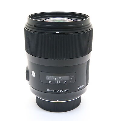 SIGMA  A 35mm F1.4 DG HSM (for Nikon F mount) #179