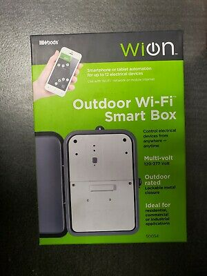 Woods Outdoor Wi-Fi Smart Box - WiOn - 50054